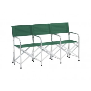 CHAIR,ALUMINUM EXTENSION,3-PLACE UNIT