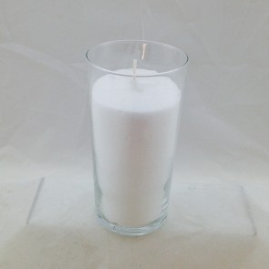 CANDLE, GLASS ,60 HOUR,DOZEN PER CARTON