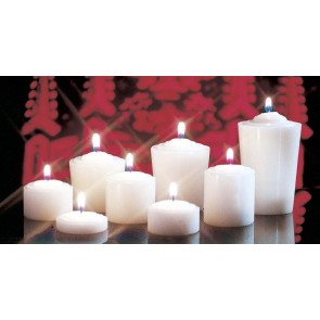 CANDLE,15 HOUR VOTIVE,DOZ.per CARTON
