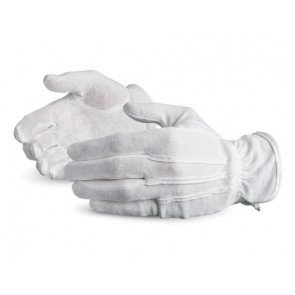 GLOVES, WHITE PALL BEARERS PAIR