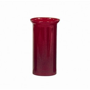"""RUBY CYLINDER,5-1/16""""T,9.25""""H,4-1/16"""""""