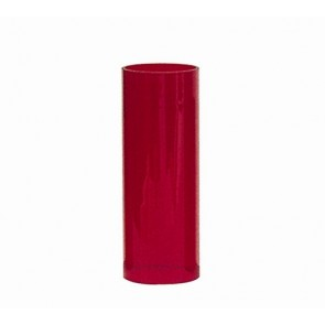 """RUBY CYLINDER,3-1/2""""T,9-5/8""""H,3-1/2"""""""