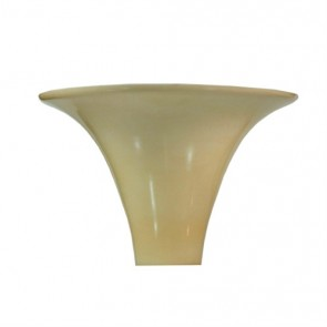 "LAMP SHADE GOLDTONE 3 5/16"" SHANK"
