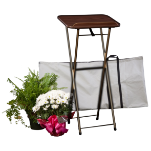 PORTABLE REGISTER STAND w/CARRYING CASE