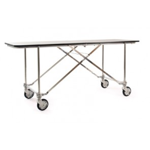 FOLDING TABLE No.34 w/BASE + GREY TOP