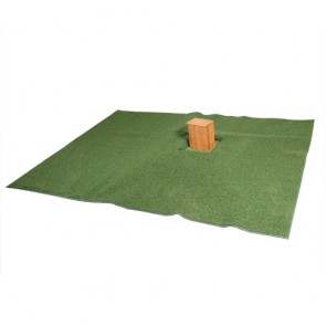 POLY TURF GRASS SET-UP f/URN, 6'x 8'