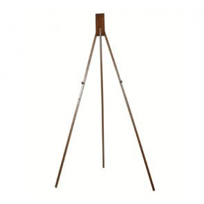 EASEL, ALL WOOD, DARK, FINISH,  60""
