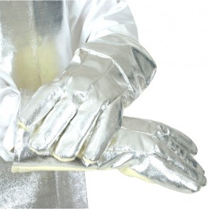 "GLOVES,KEVLAR 14"",w/ALUMINIZED BACK"