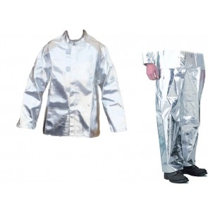 "JACKET,ALUMINIZED,30"" LONG,EXTRA LGE"
