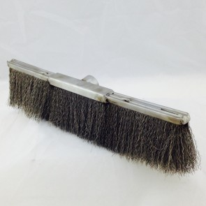 "12"" DOUBLE WIRE BRUSH W/ 90 DEGREE CONEC"