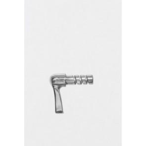 Hand brake handle and shaft