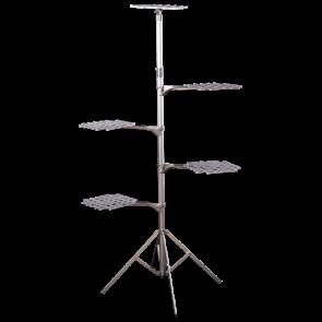 """ADJ. FLOWER STAND w/ 4 ARMS ( 53'-96"""")"""